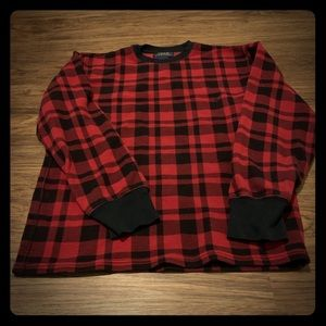 Polo Ralph Lauren plaid thermal long sleeve